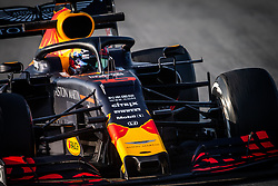 February 21, 2019 - Barcelona, Spain - 10 GASLY Pierre (fra), Aston Martin Red Bull Racing Honda RB15, action during Formula 1 winter tests from February 18 to 21, 2019 at Barcelona, Spain - Photo  Motorsports: FIA Formula One World Championship 2019, Test in Barcelona, (Credit Image: © Hoch Zwei via ZUMA Wire)