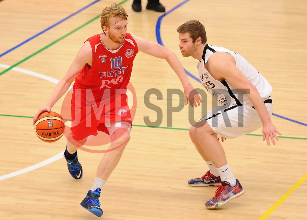 Matthias Seilund of Bristol Flyers - Mandatory byline: Dougie Allward/JMP - 06/02/2016 - FOOTBALL - SGS Wise Campus - Bristol, England - Bristol Flyers v Newcastle Eagles - British Basketball League