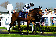 Highest Mountain ridden by Franny Norton - Ryan Hiscott/JMP - 19/04/2019 - PR - Bath Racecourse- Bath, England - Race 1 - Good Friday Race Meeting at Bath Racecourse