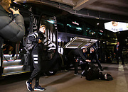 All Blacks Jordie Barrett arrives for the match during the Rugby Championship match between the New Zealand All Blacks & South Africa at Westpac Stadium, Wellington on Saturday 27th July 2019. Copyright Photo: Grant Down / www.Photosport.nz