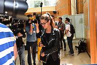 Jennifer Priez - 17.06.2015 - Proces des paris sportifs du Handball - Montpellier<br /> Photo : Alexandre Dimou / Icon Sport