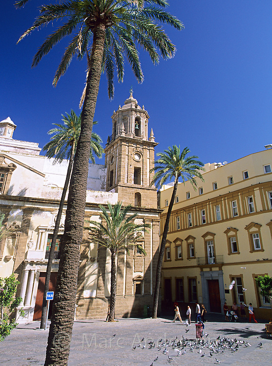 Plaza de la Catedral, Cadiz, Spain