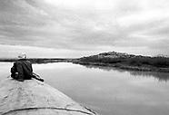 Mopti Timbuctu by Niger River B/N