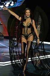 Adriana Lima on the catwalk for the Victoria's Secret Fashion Show at the Mercedes-Benz Arena in Shanghai, China