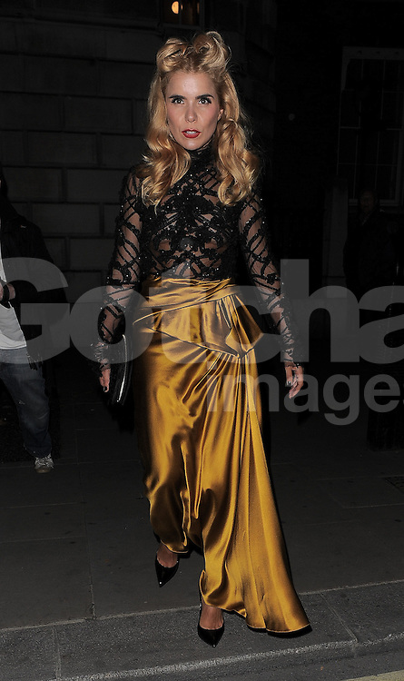 Paloma Faith attends Marchesa SS 2015 catwalk show during London Fashion Spring Summer 2015 in London, UK. 13/09/2014 <br />