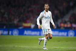 November 18, 2017 - Madrid, Madrid, Spain - Cristiano Ronaldo during the match between Atletico de Madrid and Real Madrid, week 12 of La Liga at Wanda Metropolitano stadium, Madrid, SPAIN - 18th November of 2017. (Credit Image: © Jose Breton/NurPhoto via ZUMA Press)