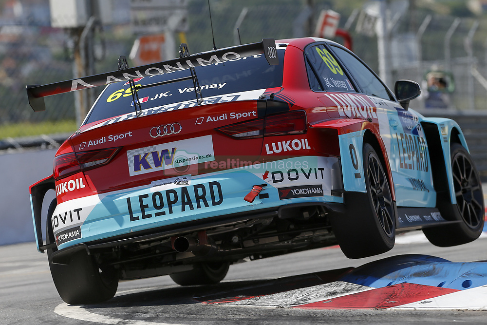 June 23, 2018 - Vila Real, Vila Real, Portugal - Jean-Karl Vernay from France in Audi RS 3 LMS of Audi Sport Leopard Lukoil Team during the Race 1 of FIA WTCR 2018 World Touring Car Cup Race of Portugal, Vila Real, June 23, 2018. (Credit Image: © Dpi/NurPhoto via ZUMA Press)
