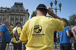 July 6, 2019 - Brussels, Brussels, Belgium - The Belgian capital and tens of thousands of spectators welcome on July 6 and 7 the start of the 2019 edition of the Tour de France. (Credit Image: © Nicolas Landemard/Le Pictorium Agency via ZUMA Press)