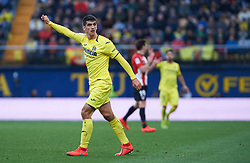 January 20, 2019 - Villarreal, Castellon, Spain - Gerard Moreno of Villarreal during the La Liga Santander match between Villarreal and Athletic Club de Bilbao at La Ceramica Stadium on Jenuary 20, 2019 in Vila-real, Spain. (Credit Image: © Maria Jose Segovia/NurPhoto via ZUMA Press)