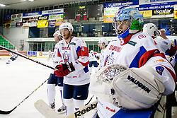 Robert Kristan of Slovenia during friendly ice-hockey match between Slovenia and Switzerland, on December 14, 2011 at Hala Tivoli, Ljubljana, Slovenia. (Photo By Matic Klansek Velej / Sportida)