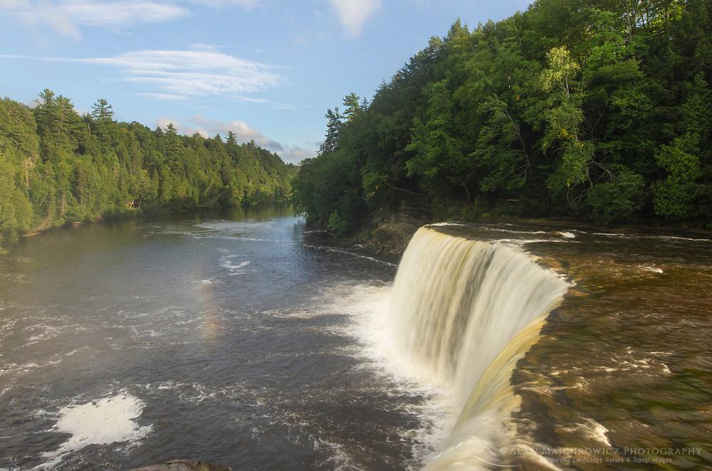Upper Tahquamenon Falls, Tahquamenon Falls  State Park, Upper Peninsula Michigan