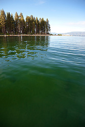 """Green Waters of Lake Tahoe"" - This green water was photographed in Emerald Bay, Lake Tahoe."