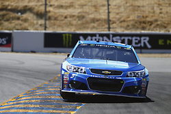 June 23, 2017 - Sonoma, CA, United States of America - June 23, 2017 - Sonoma, CA, USA: Kasey Kahne (5) takes to the track to practice for the Toyota/Save Mart 350 at Sonoma Raceway in Sonoma, CA. (Credit Image: © Justin R. Noe Asp Inc/ASP via ZUMA Wire)
