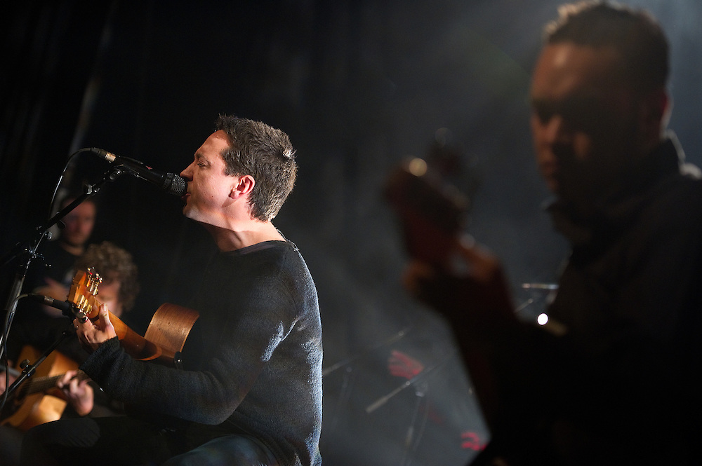 Shihad's Jon Toogood performs at the NZ on Air 21st Birthday Party. Powerstation, Auckland. 10 June 2010
