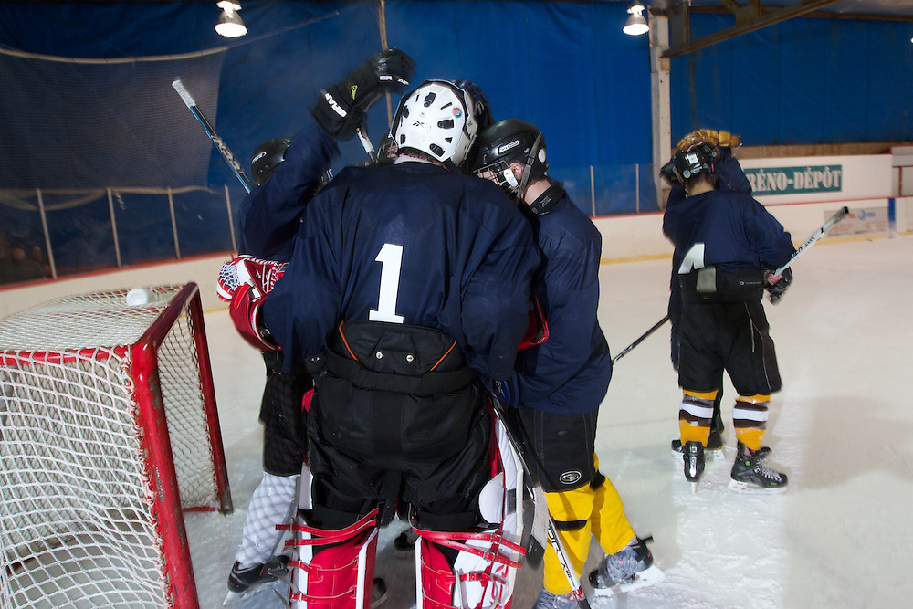 Federation CJA 3rd Annual Winter Classic Hockey Tournament. Boanventure Hockey Arena, Ville Saint Laurent, Quebec.