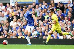 Everton's John Stones in action - Mandatory by-line: Matt McNulty/JMP - 02/08/2015 - SPORT - FOOTBALL - Liverpool,England - Goodison Park - Everton v Villareal - Pre-Season Friendly