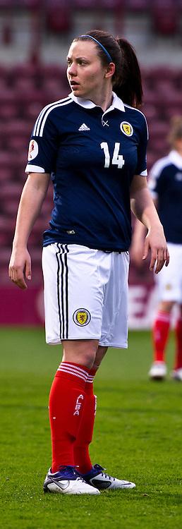 Rachel Corsie. Scotland Women v Republic of Ireland Women, UEFA Women's European Championship 2011/13 Qualifier