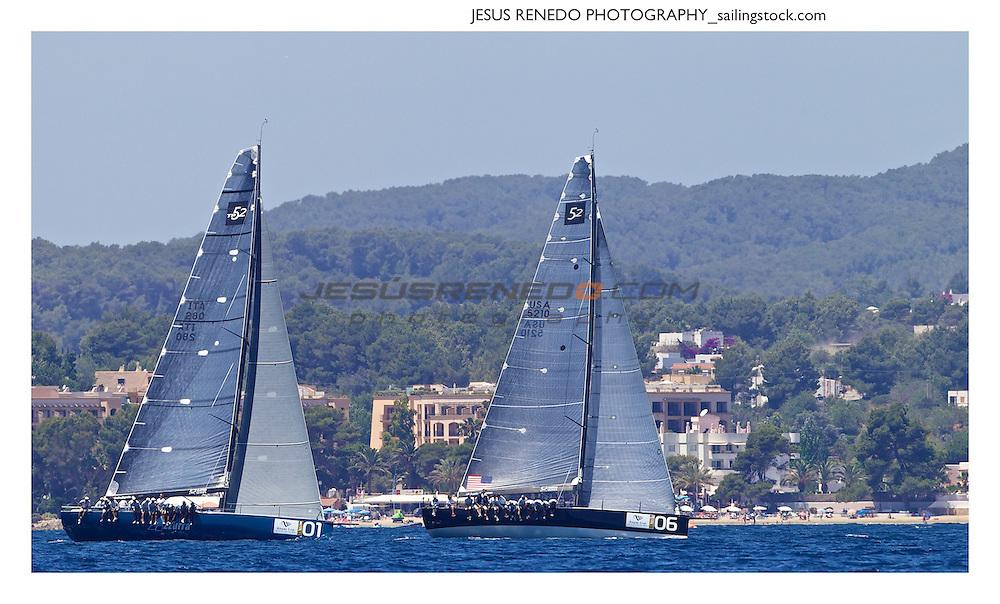 52 Superseries-ibiza 2013, coastal race