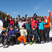 Located at timberline in the Guller Creek Drainage next to the Copper Mountain Ski Resort, Janet's Cabin is a fine hut that attracts both novice and expert skiers.
