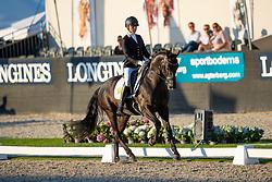 Van Gijtenbeek Esmee, NED, Hot Chocolate<br /> World ChampionshipsYoung Dressage Horses<br /> Ermelo 2018<br /> © Hippo Foto - Dirk Caremans