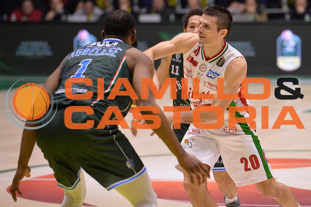 Cinciarini Andrea<br /> Olimpia EA7 Emporio Armani Milano vs Enel Brindisi<br /> LegaBasket Final Eight Coppa Italia Poste Mobile 2017<br /> Rimini 16/02/2017<br /> Foto Ciamillo-Castoria/ I.Mancini