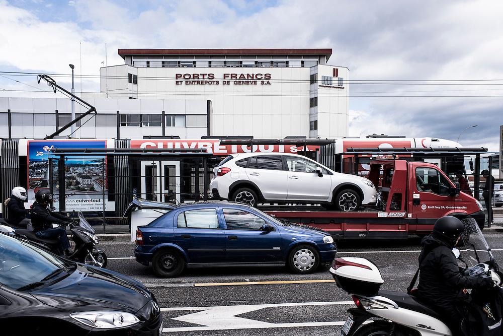 Ports Francs - Geneva Freeports. Geneva, 19 Mai 2016 © Fred Merz | Lundi13
