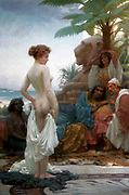 The White Slave,  1894 by Ernest Normand (1859-1923) English orientalist painter.