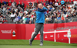 Europe's Paul O'Connell during a celebrity golf match ahead of the 41st Ryder Cup at Hazeltine National Golf Club in Chaska, Minnesota, USA.
