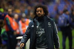 February 24, 2019 - Valencia, Valencia, Spain - Marcelo Vieira of Real Madrid prior the La Liga match between Levante and Real Madrid at Estadio Ciutat de Valencia on February 24, 2019 in Valencia, Spain. (Credit Image: © Maria Jose Segovia/NurPhoto via ZUMA Press)