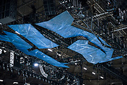 "A view of the decorated rafters for ""Cirque du Soleil: CRYSTAL"" during rehearsal at the Alliant Energy Center in Madison, WI on Wednesday, May 1, 2019."