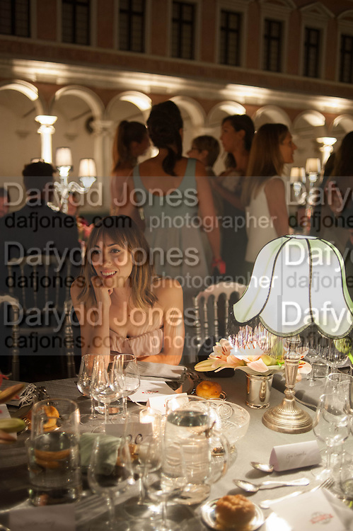 GIA COPPOLA, Italian Vanity Fair's 10 Anniversary celebration  hosted by Luca Dini. . Fondazione Cini, Isola di San Giorgio. Venezia.  1 September 2013