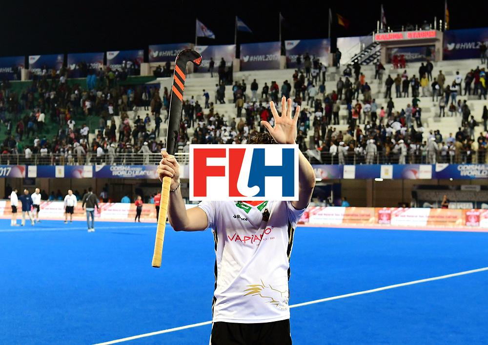 Odisha Men's Hockey World League Final Bhubaneswar 2017<br /> Match id:20<br /> Australia v Germany<br /> Foto: Australia wins the Semi Final against Germany.<br /> Dieter Linnekogel (Ger)  <br /> COPYRIGHT WORLDSPORTPICS FRANK UIJLENBROEK