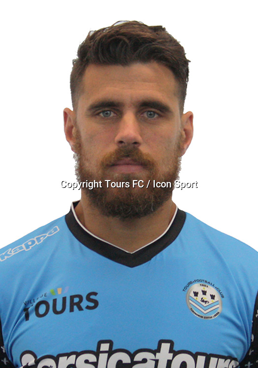 Bryan Bergougnoux during the during photoshooting of Tours FC for new season 2017/2018 on October 5, 2017 in Tours, France<br /> Photo : Tours FC / Icon Sport