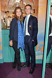 LADY NATASHA FINCH and her brother VISCOUNT ERLEIGH at a party for the UK launch of Mr Boho held at Annabel's, 44 Berkeley Square, London on 19th May 2016.