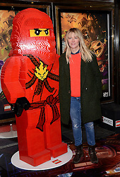 Edith Bowman attends the Lego Ninjago:  Masters Of Spinjitzu UK TV premiere at The Empire Cinema, Leicester Square, on Saturday 7 February 2015