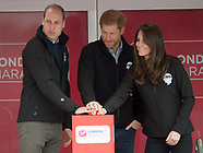 Kate Middleton, Prince William & Harry London Marathon3