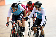 Jordan Kerby and Campbell Stewart in Madison during the 2019 Vantage Elite and U19 Track Cycling National Championships at the Avantidrome in Cambridge, New Zealand on Sunday, 10 February 2019. ( Mandatory Photo Credit: Dianne Manson )