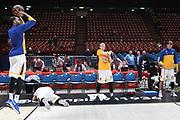 Team Khimki pregame, Ax Armani Exchange Olimpia Milano vs Khimki Moscow Region - EuroLeague 2017/2018, Milano Mediolanum Forum 7 dicembre 2017 - foto Bertani/Ciamillo-Castoria