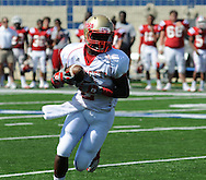 Lafayette High's D.K. Buford (2) vs. Evangel Christian in Shreveport, La.  on Saturday, September 10, 2011. Lafayette High won 35-34.