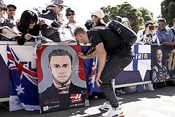 March 14, 2019 - Melbourne, Australia - Motorsports: FIA Formula One World Championship 2019, Grand Prix of Australia, ..#20 Kevin Magnussen (DEN, Rich Energy Haas F1 Team) (Credit Image: © Hoch Zwei via ZUMA Wire)