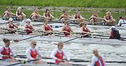 Gent, BELGIUM,  Sat,  Mornings heats,  W8+ Oxford Brookes, leading at the 1500 meters, International Belgian Rowing Championships, Saturday 09/05/2009, [Mandatory Credit. Peter Spurrier/Intersport Images]