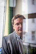 Schriftsteller Volker Altwasser in Prag. Kommerzielle Nutzung NUR fuer das Literaturhaus Prag !!!
