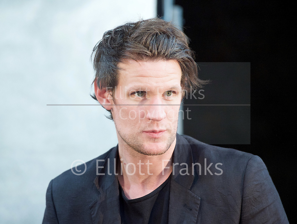 Unreachable <br /> written &amp; directed by Anthony Neilson <br /> at The Royal Court Theatre, London, Great Britain <br /> press photocall<br /> 6th July 2016 <br /> <br /> Matt Smith <br /> <br /> Photograph by Elliott Franks <br /> Image licensed to Elliott Franks Photography Services