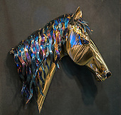 John K Mercer Art Photography: 2015 Great Western  Show Sundown Metal Art LLC