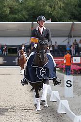 Van Silfhout Diederik, (NED), Cupido<br /> ZZ Zwaar finale<br /> Dutch Championship Dressage - Ermelo 2015<br /> © Hippo Foto - Dirk Caremans<br /> 18/07/15