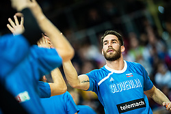 Alen Hodzic of Slovenia during basketball match between National teams of Slovenia and Austria in 2nd Round of the 2021 EuroBasket Qualifiers, on February 23, 2020 in Arena Bonifika, Koper / Capodistria, Slovenia. Photo By Grega Valancic / Sportida