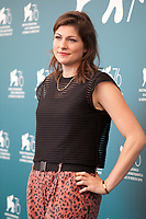 Director Katrin Gebbe at the photocall for the film Pelikanblut (Pelican Blood) at the 76th Venice Film Festival, on Wednesday 28th August 2019, Venice Lido, Italy.