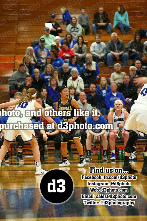 Luther College defeated Nebraska Wesleyan University 61-51 in IIAC women's basketball action in Deborah, Iowa on January 28, 2017.