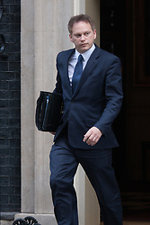 Downing Street, London, January 27th 2015. Ministers attend the weekly cabinet meeting at Downing Street. PICTURED: Grant Shapps.