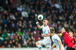 KURTIC Jasmin of Slovenia during the 2020 UEFA European Championships group G qualifying match between Slovenia and Austria at SRC Stozice on October 13, 2019 in Ljubljana, Slovenia. Photo by Peter Podobnik / Sportida